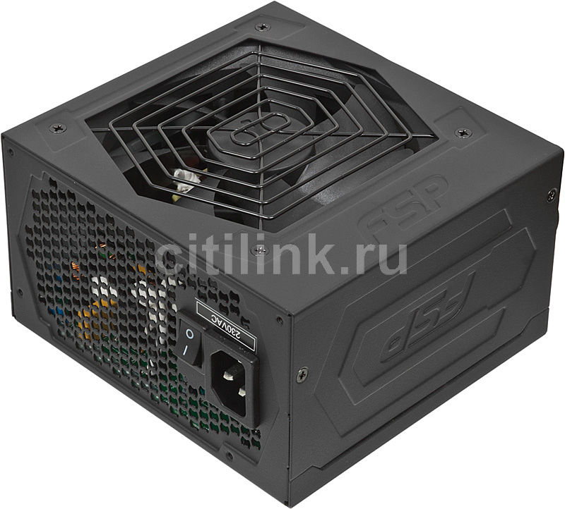 Блок питания FSP Hexa AXE550,  550Вт,  120мм,  черный, retail