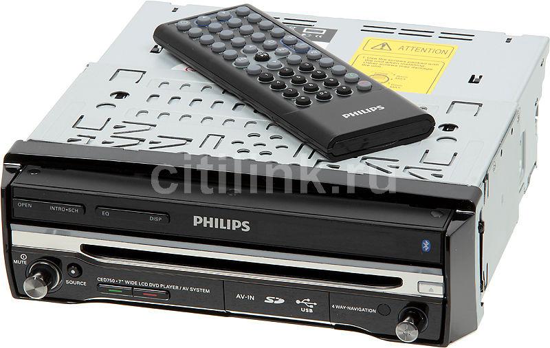 Автомагнитола PHILIPS CED750/51,  USB,  SDHC