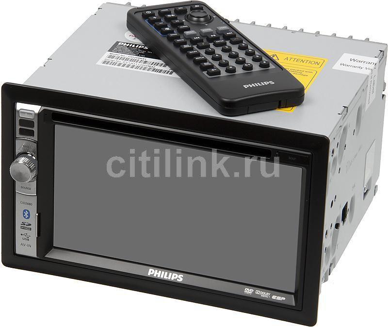 Автомагнитола PHILIPS CID2680/51,  USB,  SDHC