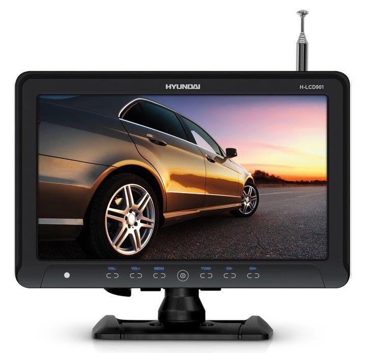 Автомобильный портативный телевизор HYUNDAI H-LCD901,  9.2