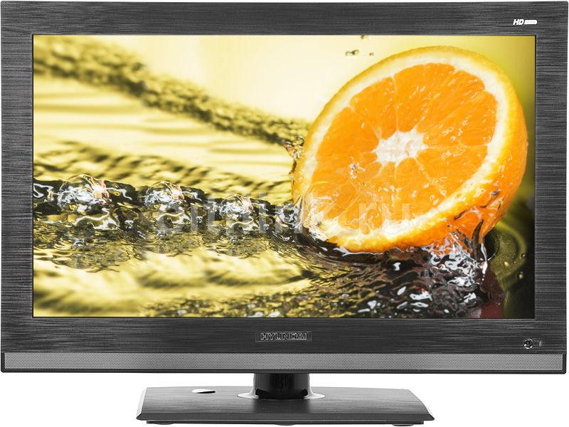 "LED телевизор HYUNDAI H-LEDVD19V6  ""R"", 18.5"", HD READY (720p),  c DVD плеером,  черный"