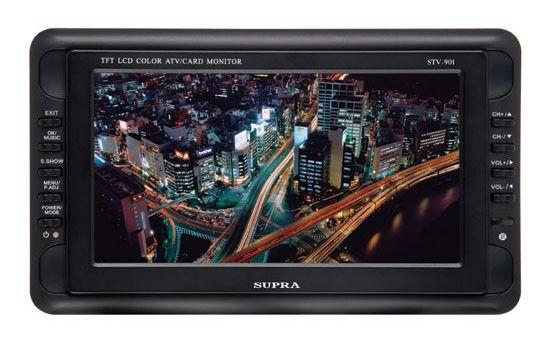 Автомобильный портативный телевизор SUPRA STV-1001,  10.2