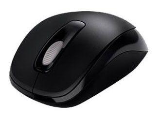 Мышь MICROSOFT 1000 оптическая беспроводная USB, черный [2cf-00004]