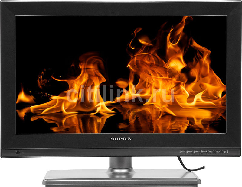 "LED телевизор SUPRA STV-LC1995WL  ""R"", 18.5"", HD READY (720p),  черный"