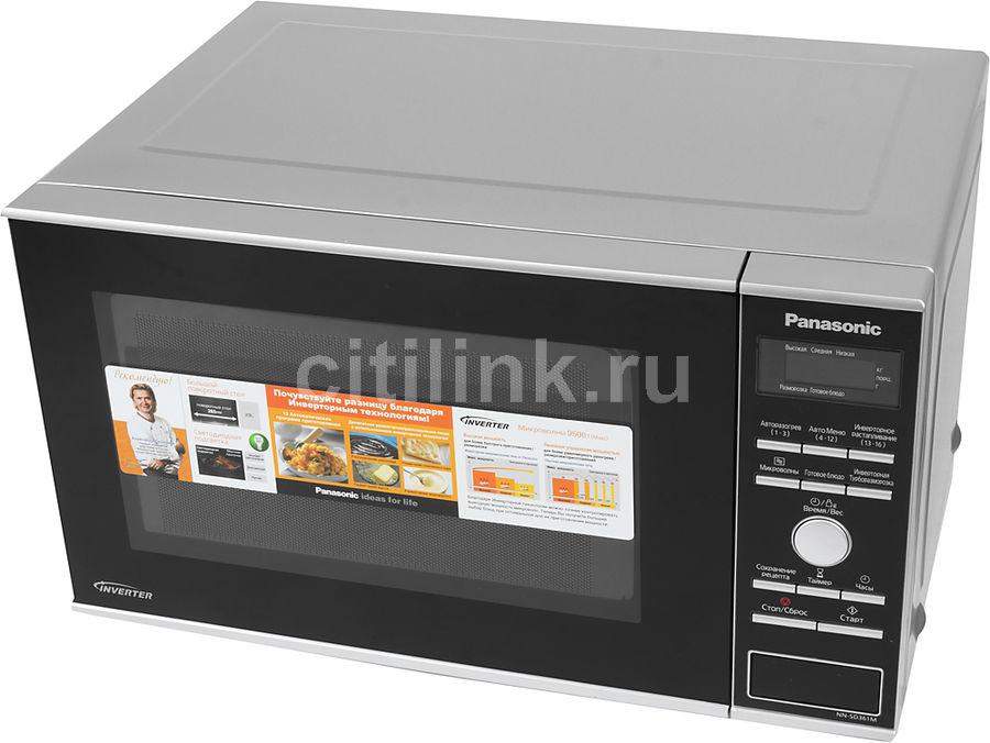 Микроволновая печь PANASONIC NN-SD361MZPE, серебристый