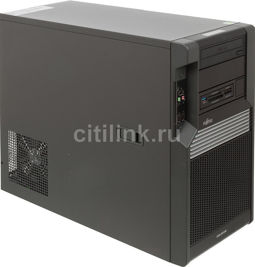 Рабочая станция  FUJITSU CELSIUS M470-2,  Intel  Xeon  E5620,  DDR3 8Гб, 1000Гб,  nVIDIA Quadro 2000 - 1024 Мб,  DVD-RW,  CR,  Windows 7 Professional,  черный [vfy:m4702wf131ru]