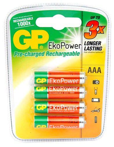 Аккумулятор GP 60AAAHCBEP-C4,  1 шт. AAA,  600мAч