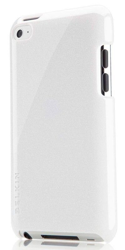Чехол для iPod 4G Belkin Shield Micra Metallic белый F8Z762cwC01