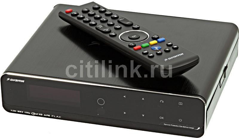 Медиаплеер DIGMA HDMP-650,  черный