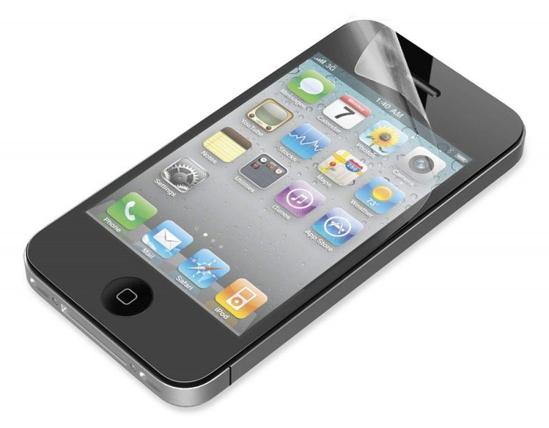 Защитная пленка BELKIN F8Z710cw  для Apple iPhone 4,  матовая, 1 шт