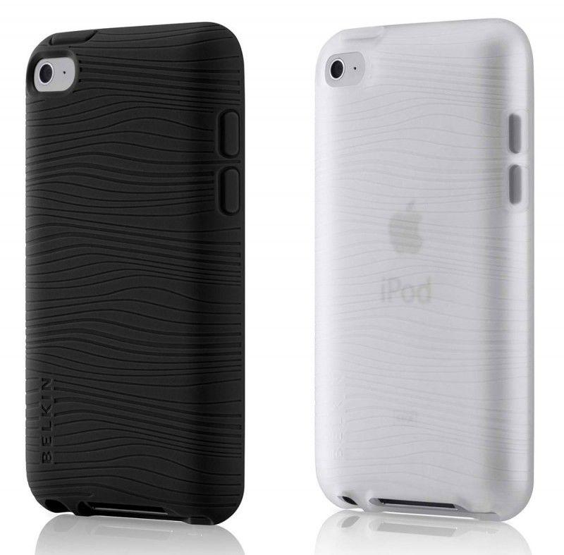 Чехол для iPod 4G Belkin Grip Groove 2шт. черный/прозрачный F8Z652cwC [f8z652cwc00]