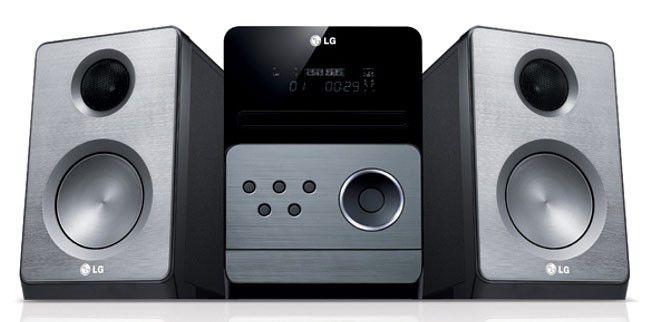 Музыкальный центр LG XA-66,  серебристый [xa66]