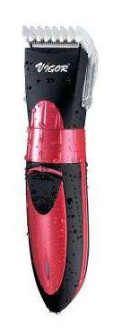 Триммер VIGOR HX-6232,  красный/черный