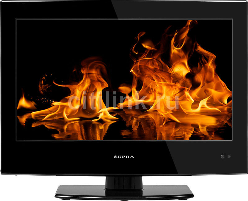 "Телевизор ЖК SUPRA STV-LC1515WD  ""R"", 15.6"", HD READY (720p),  c DVD плеером,  черный"