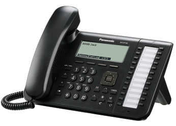 IP телефон PANASONIC KX-UT136RU-B