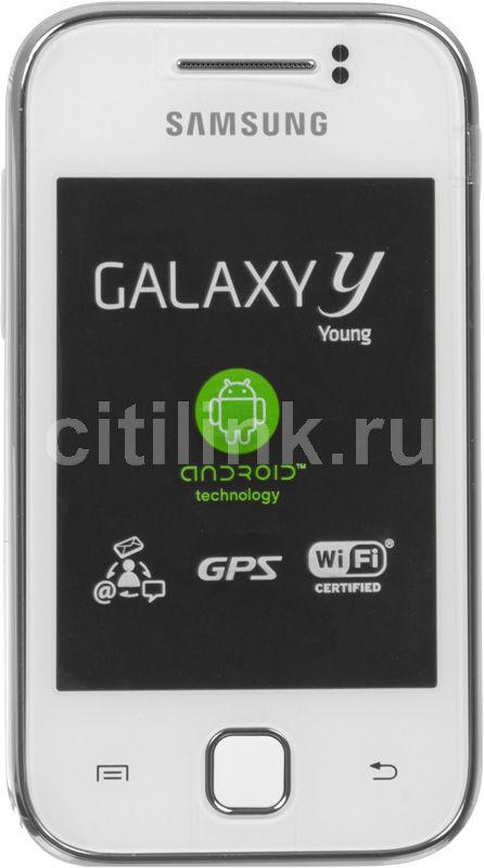 Смартфон SAMSUNG Galaxy Y GT-S5360  белый