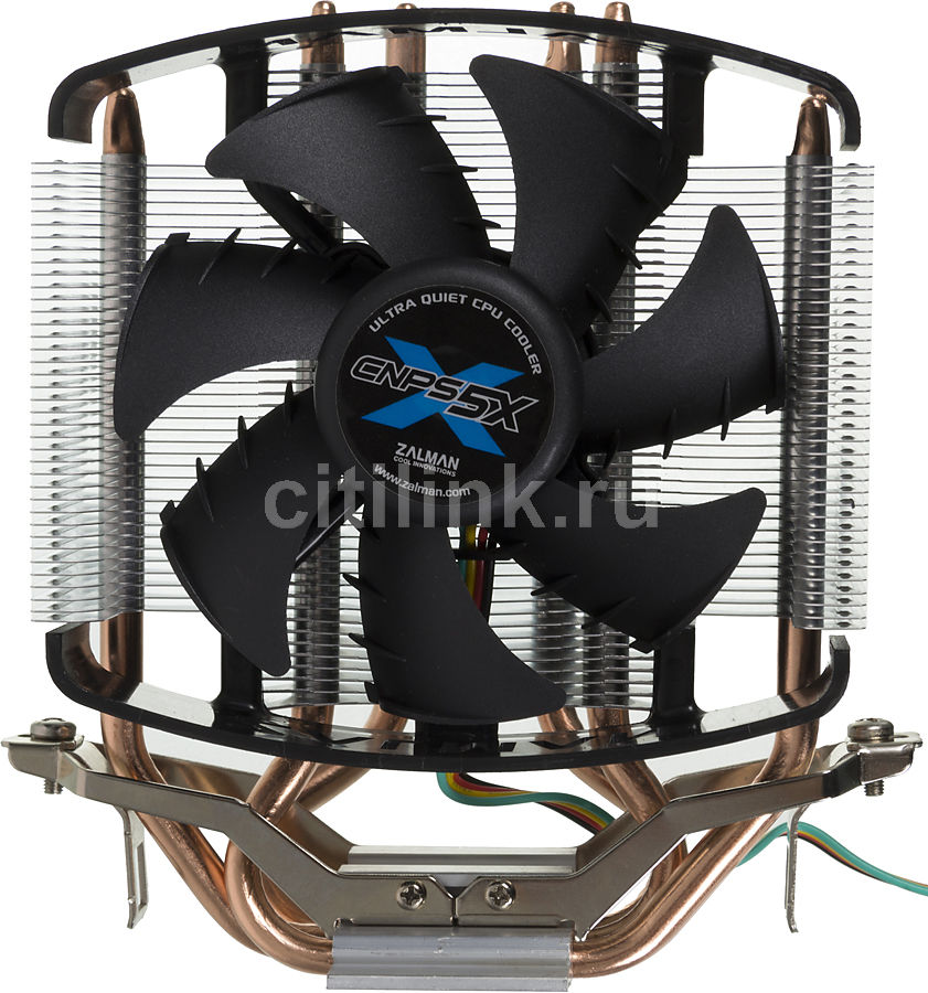 Устройство охлаждения(кулер) ZALMAN CNPS5X PERFORMA,  92мм, Ret