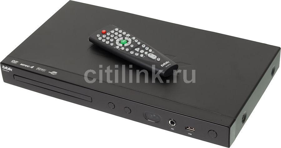 DVD-плеер BBK DVP457SI,  черный,  диск 500 песен
