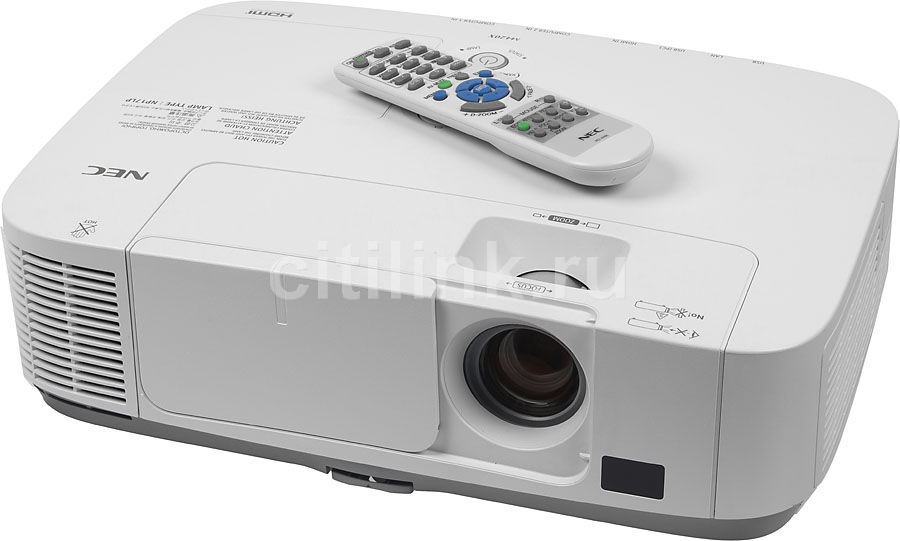 Проектор NEC M420X белый