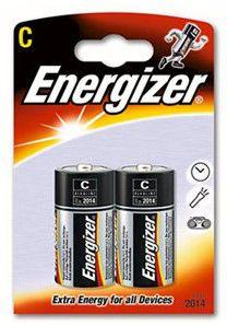 Батарея ENERGIZER LR14-2BL,  2 шт. C