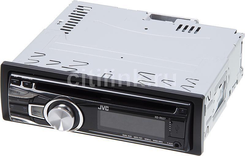 Автомагнитола JVC KD-R527,  USB