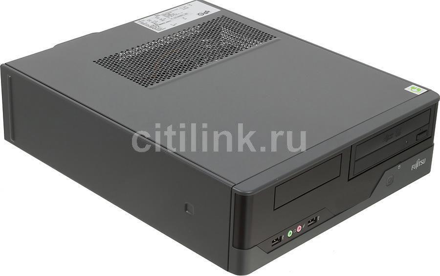 Компьютер  FUJITSU ESPRIMO E400 SFF E85+,  Intel  Core i3  2120,  DDR3 2Гб, 500Гб,  Intel HD Graphics 2000,  DVD-RW,  Free DOS,  черный [vfy:e0400pf045ru]