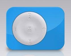 MP3 плеер EXPLAY X1 flash 8Гб белый/голубой [x1 8gb white/blue]