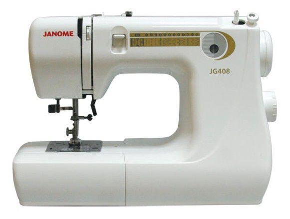 Швейная машина JANOME JG408 белый