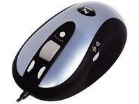 Мышь A4 X6-90D лазерная проводная USB, серебристый и черный [x6-90d u (silver black)]