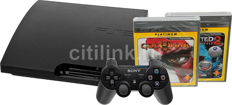 Игровая консоль SONY PlayStation 3 PS719250111, черный