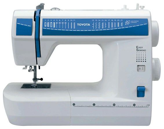 Швейная машина TOYOTA Easy Sewing DES 21 белый