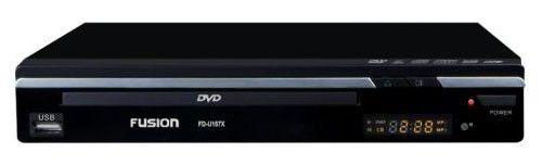 DVD-плеер FUSION FD-U157X,  черный