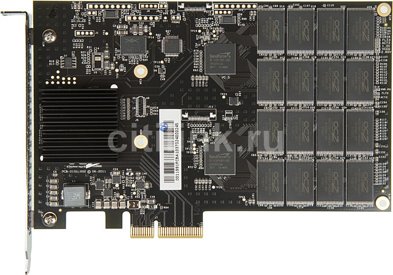 SSD накопитель OCZ RevoDrive 3 RVD3-FHPX4-240G 240Гб, PCI-E AIC (add-in-card), PCI-E x4
