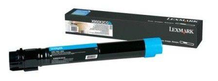 Тонер картридж Lexmark X950X2CG cyan для X950