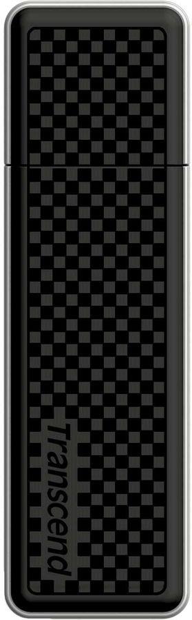 Флешка USB TRANSCEND Jetflash 780 16Гб, USB3.0, черный и серебристый [ts16gjf780]