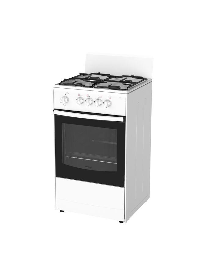 Газовая плита DARINA 1A GM 441 001 W духовка,  белый