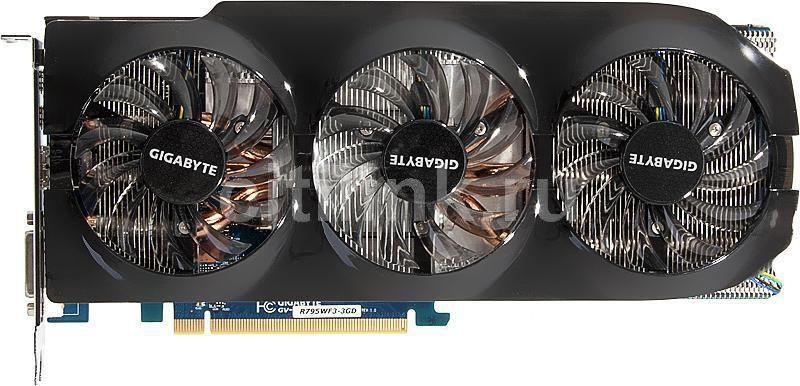 Видеокарта GIGABYTE Radeon HD 7950,  3Гб, GDDR5, Ret [gv-r795wf3-3gd]