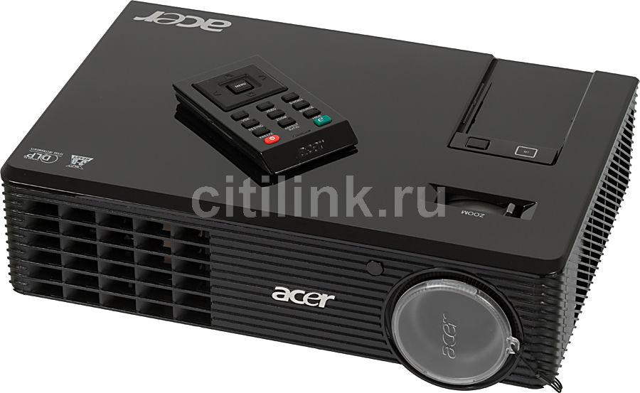 Проектор ACER X1161P черный [ey.jbu01.044]