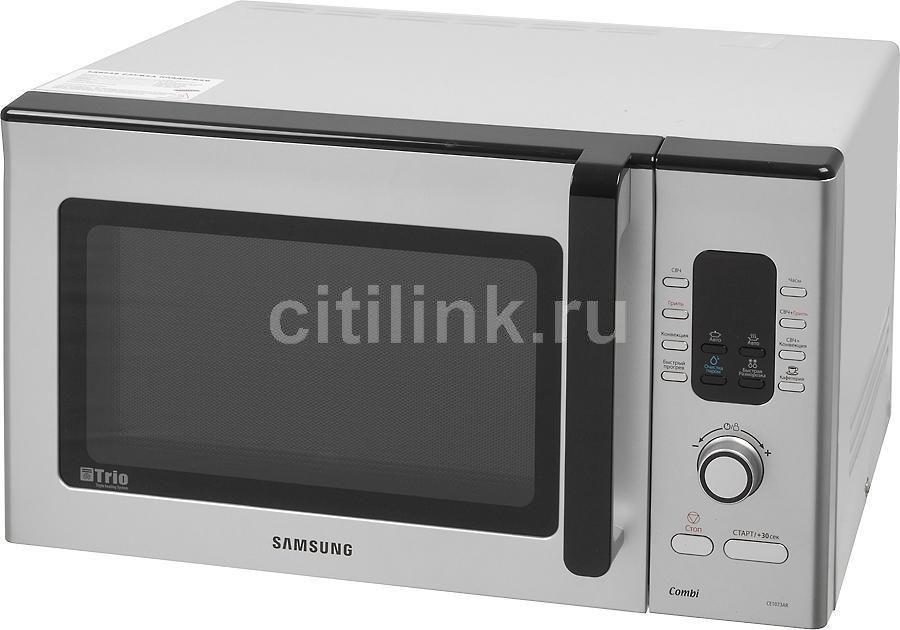 Микроволновая печь SAMSUNG CE-1073ARS, серебристый