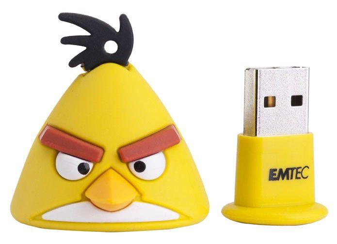 Флешка USB EMTEC A102 Yellow Bird 4Гб, USB2.0, желтый [ekmmd4ga102]