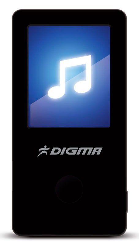 MP3 плеер DIGMA T2 flash 4Гб черный