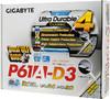 Материнская плата GIGABYTE GA-P61A-D3 LGA 1155, ATX, Ret вид 6