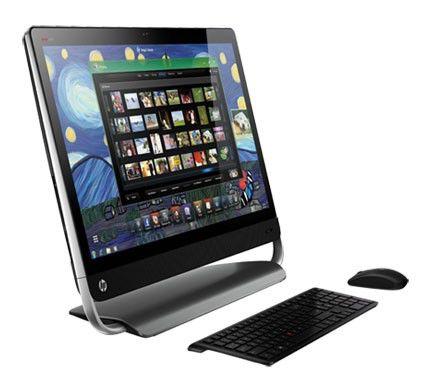 Моноблок HP Omni 27-1000er, Intel Core i3 2120, 4Гб, 500Гб, AMD Radeon HD 7450A - 1024 Мб, DVD-RW, Windows 7 Home Premium, черный [h1f63ea]