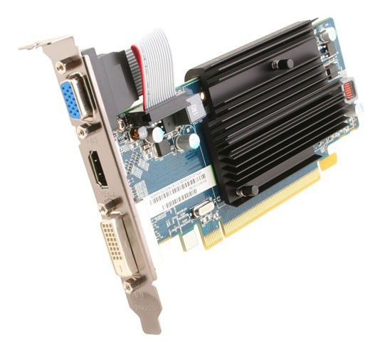 Видеокарта SAPPHIRE Radeon HD 6450,  2Гб, DDR3, Low Profile,  oem [11190-xx-10g]