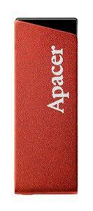 Флешка USB APACER AH130 8Гб, USB2.0, красный [ap8gah130r-1]