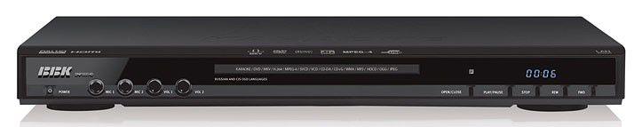 DVD-плеер BBK DNP1031HD,  черный