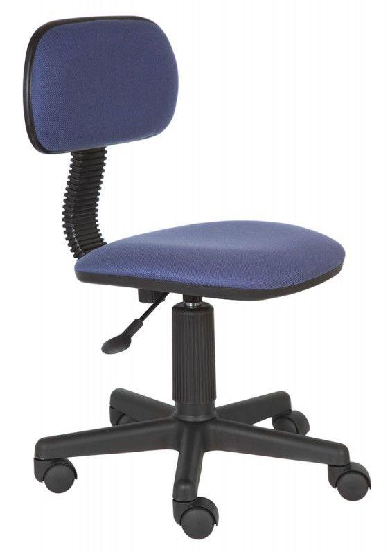 Кресло БЮРОКРАТ Ch-201NX, на колесиках, ткань, синий [ch-201nx/purple]