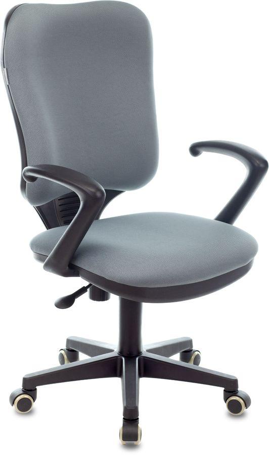 Кресло БЮРОКРАТ Ch-540AXSN, на колесиках, ткань, серый [ch-540axsn/26-25]