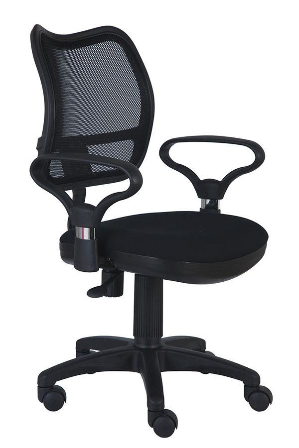 Кресло БЮРОКРАТ Ch-799AXSN, на колесиках, ткань, черный [ch-799axsn/black]