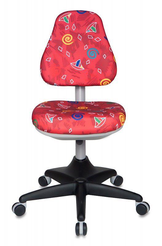 Кресло детское БЮРОКРАТ KD-2, на колесиках, красный [kd-2/r]